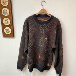 Vintage Generra Funky Knit Sweater